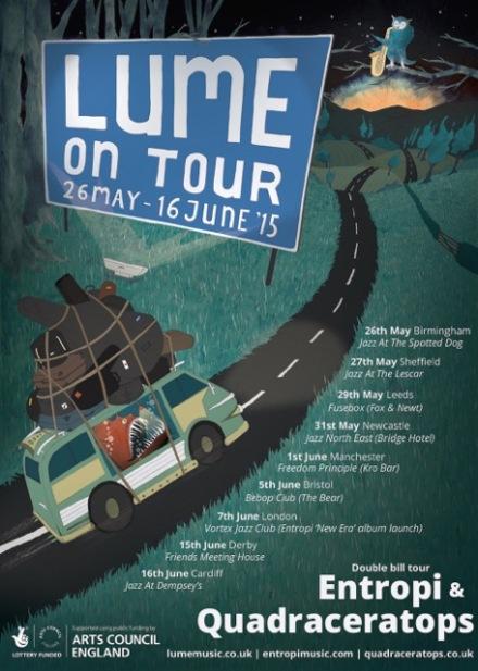 LUME On Tour eflyer